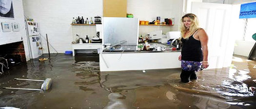 water damage in Miami